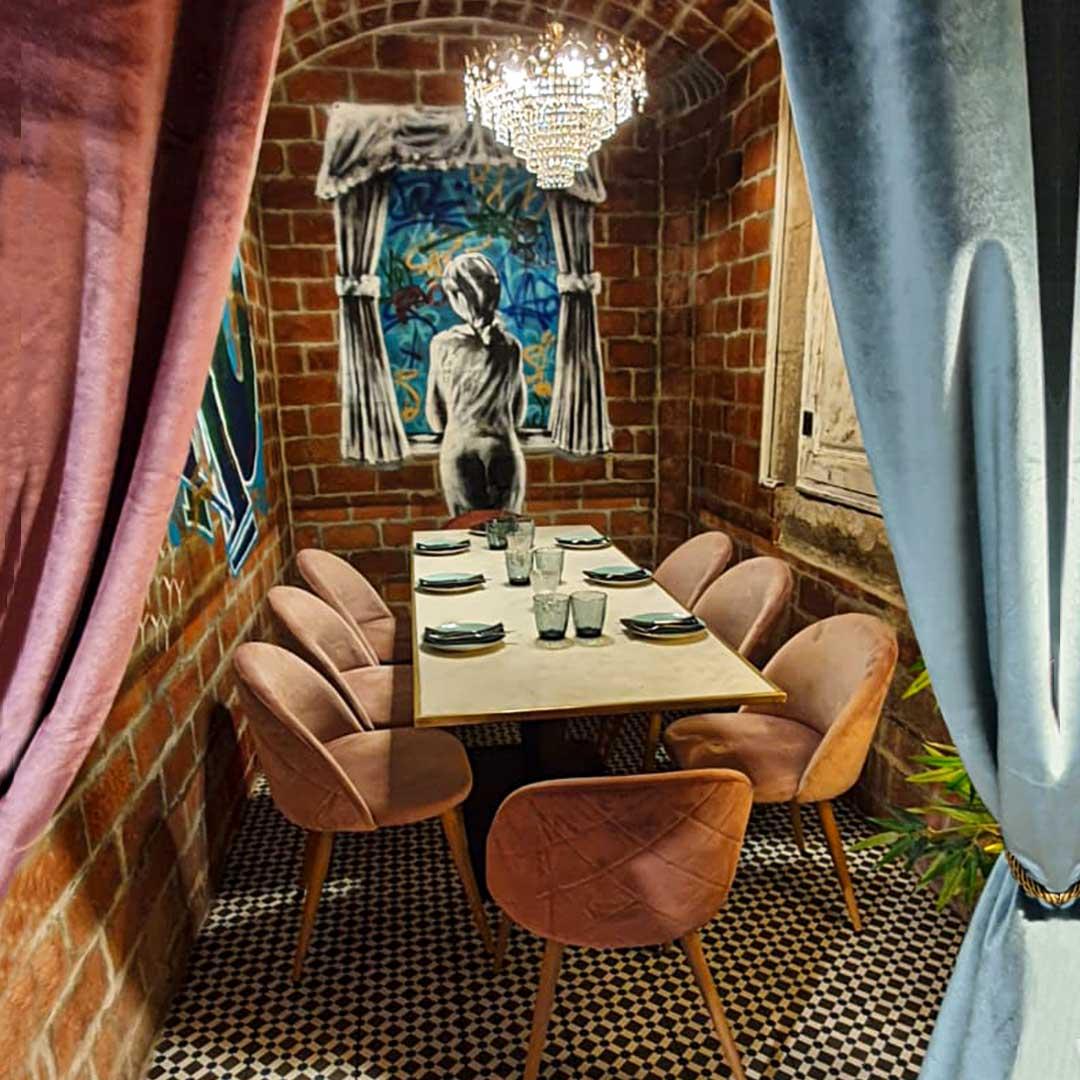 rao vip room restaurant barcelona